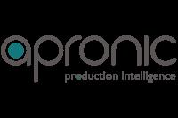 apronic logo mit slogan